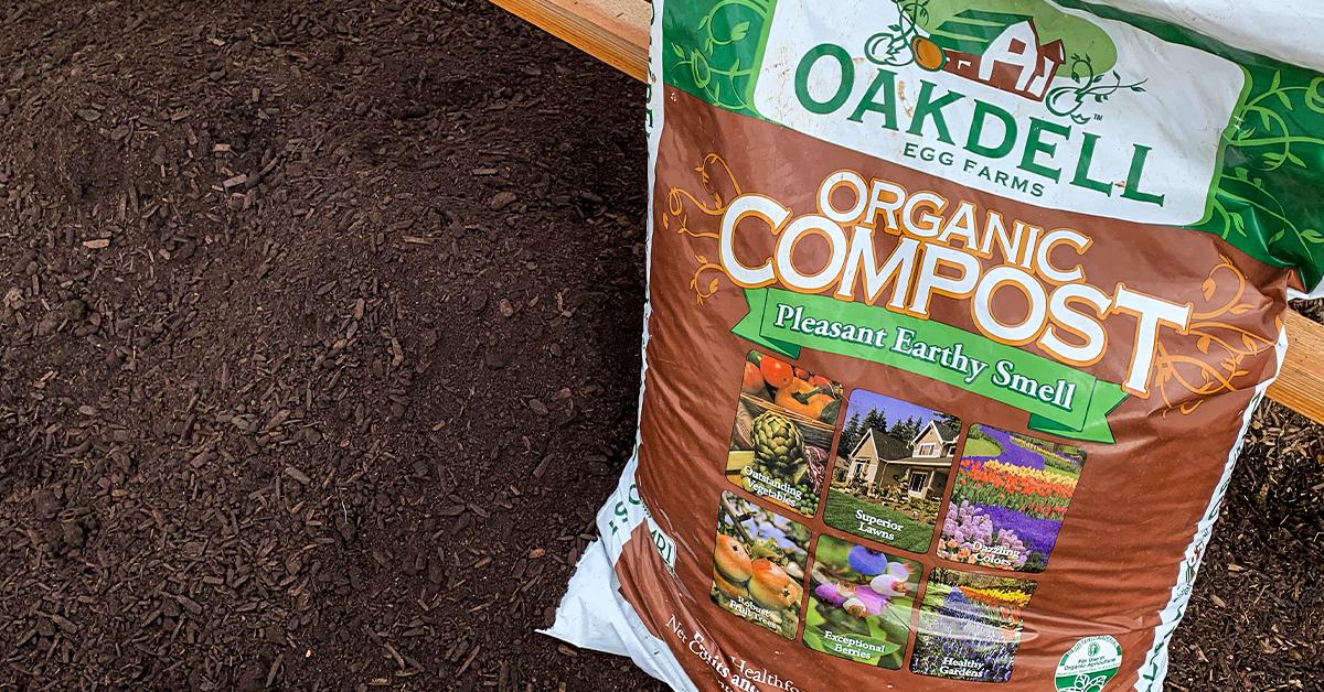 Oakdell organic earth compost