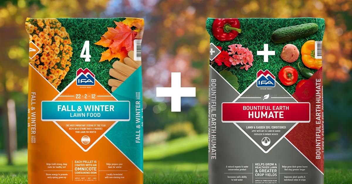 fall & winter fertilizer plus humate