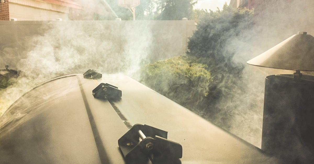 wood pellet smoker