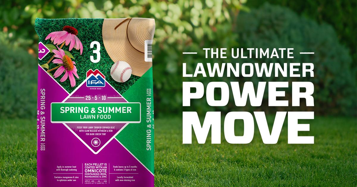 Spring & Summer Lawn Fertilizer: Step 3 to a Healthy Lawn