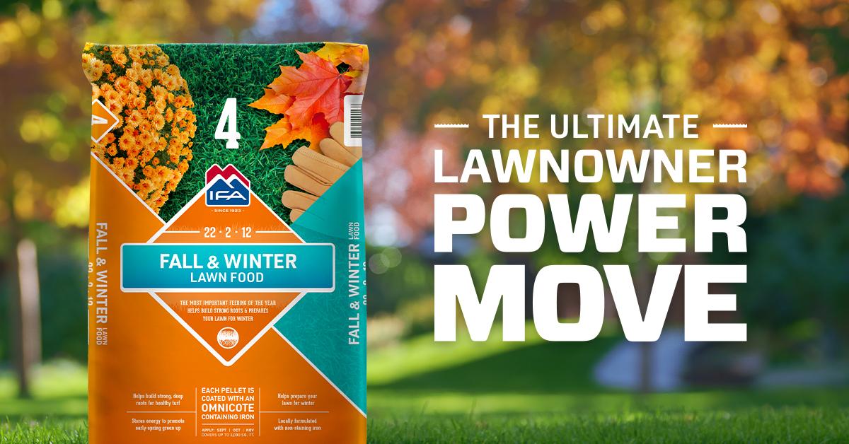 Fall & Winter Lawn Fertilizer: Step 4 to a Healthy Lawn