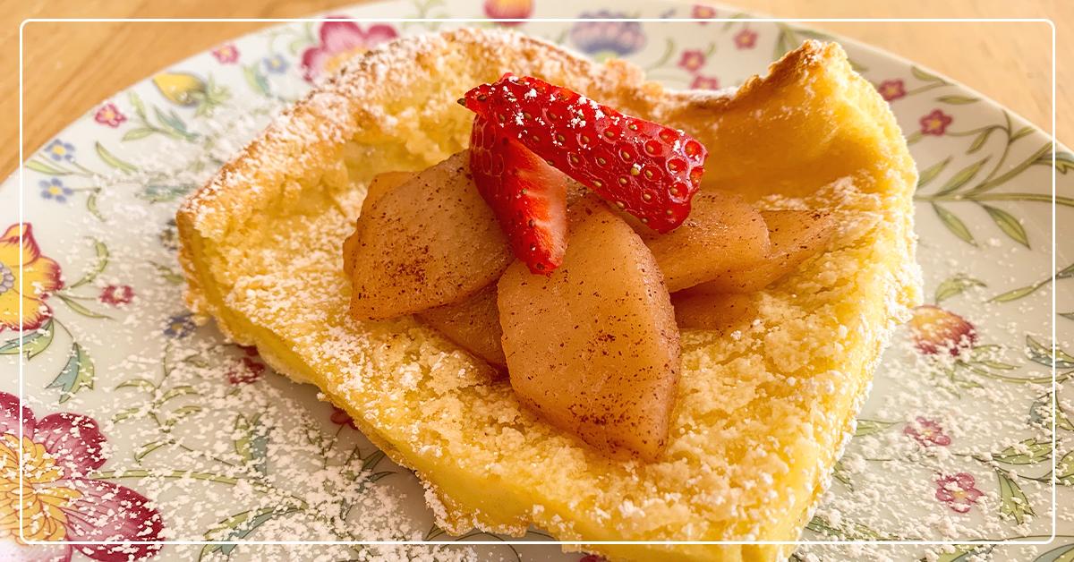 Grandma Mickelsen's German Pancake Recipe