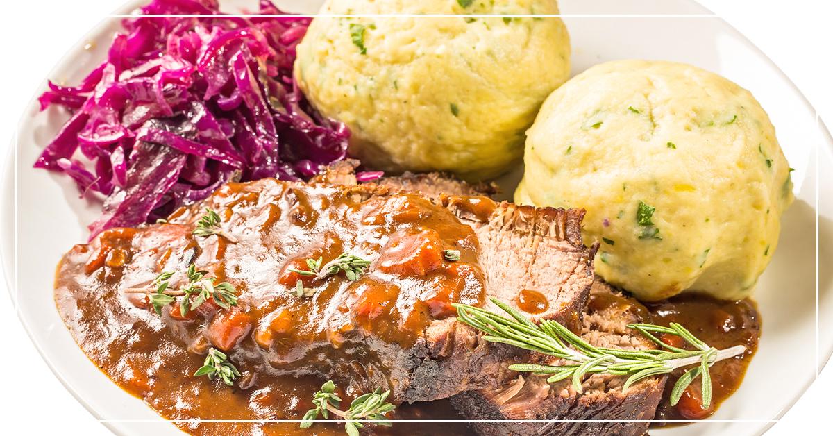 Grandpa Weller's Traditional German Sauerbraten Recipe